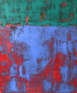 Susan Wolfe Huppman Chroma acrylic on canvas