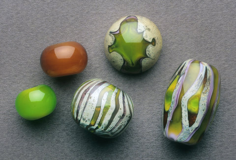 S U Z A N N E   S T E R N   S T U D I O S Lampworking Lampwored glass with fine silver