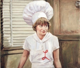 Suzanne Bennett Sitcom Paintings oil on canvas