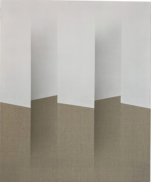 SUZANNE SONG PLICAE acrylic on linen