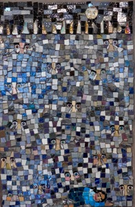 Suzi K. Edwards Mosaic Musings on Politics and Life Glass Mosaic, Dolls Eyes