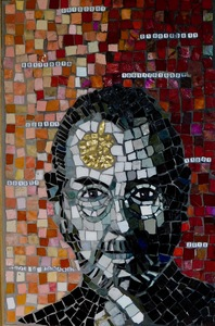 Suzi K. Edwards Mosaic Musings on Politics and Life Glass Mosaic Plastic letters and Numbers