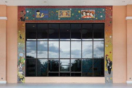 Suzi K. Edwards Public Art-Susan B Katz Theater Glass Mosaic & Architectural Ceramics