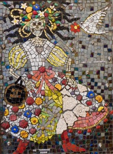 Suzi K. Edwards The Wedding of Queen Victoria and Prince Albert & other odd images Glass Mosaic