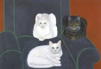 "Sylvia Sherwin Goldberg Animals 24"" x 36"""