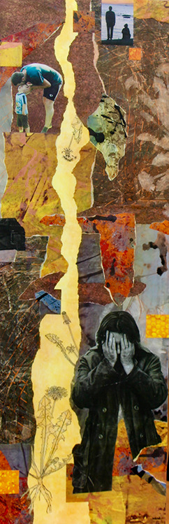 Diane Ward mixed media