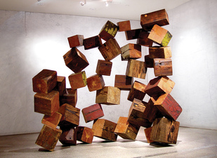 TADASHI HASHIMOTO Site-Specific Sculpture wood