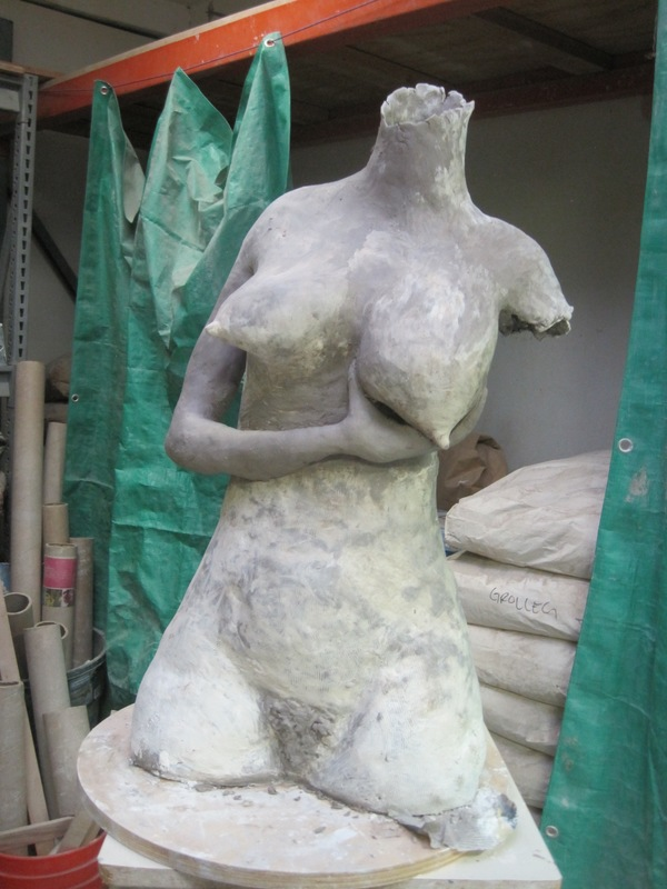 Ceramic Sculpture In progress  Ceramic Sculpture In progress