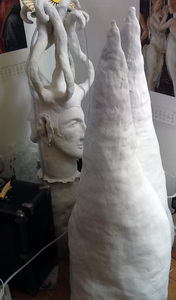 Ceramic Sculpture In progress