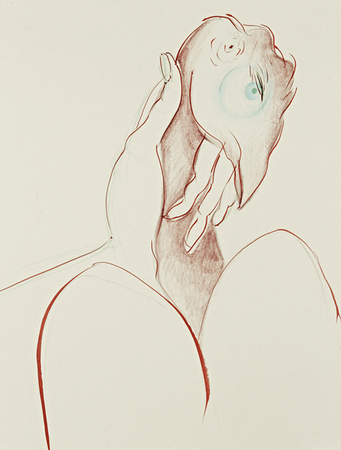 Tammy Nguyen Works on Paper colored pencil and ink on paper