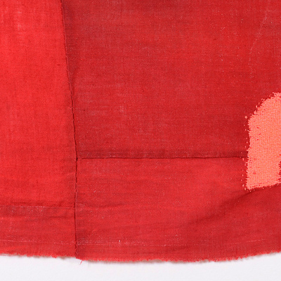 Altered, 2012 to present thread darned into found cloth