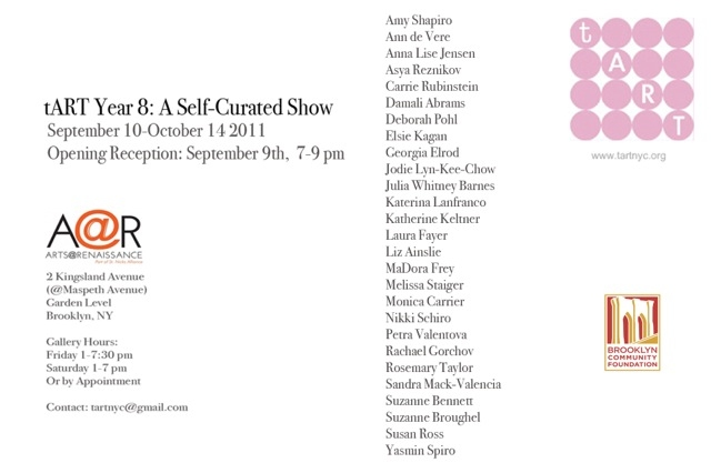 2011: A Self-Curated Show Sep. 9 - Oct. 14, 2011
