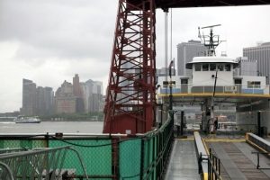 2010: Making & Sharing a Room of Our Own Governor's Island ferry