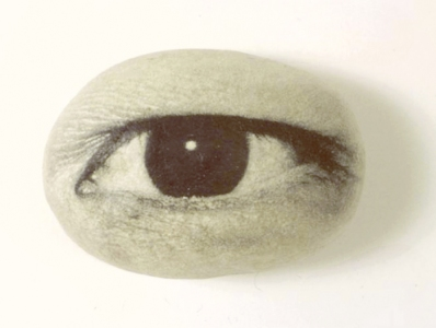 Tatana Kellner EYE WITNESS photographic emulsion on cast handmade ppaer