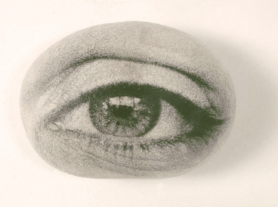 Tatana Kellner EYE WITNESS photographic emulsion on cast handmade paper