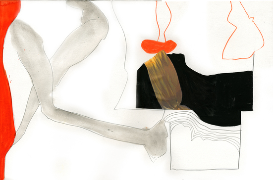 Tatana Kellner PAINTINGS acrylic, graphite, collage