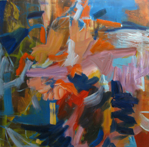 TERESA SITES PAINTING: ABSTRACT Oil on Canvas