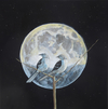 LEVITY/an old scientific term to describe a hidden force, such as gravity.   today it means a lightness. oil/linen