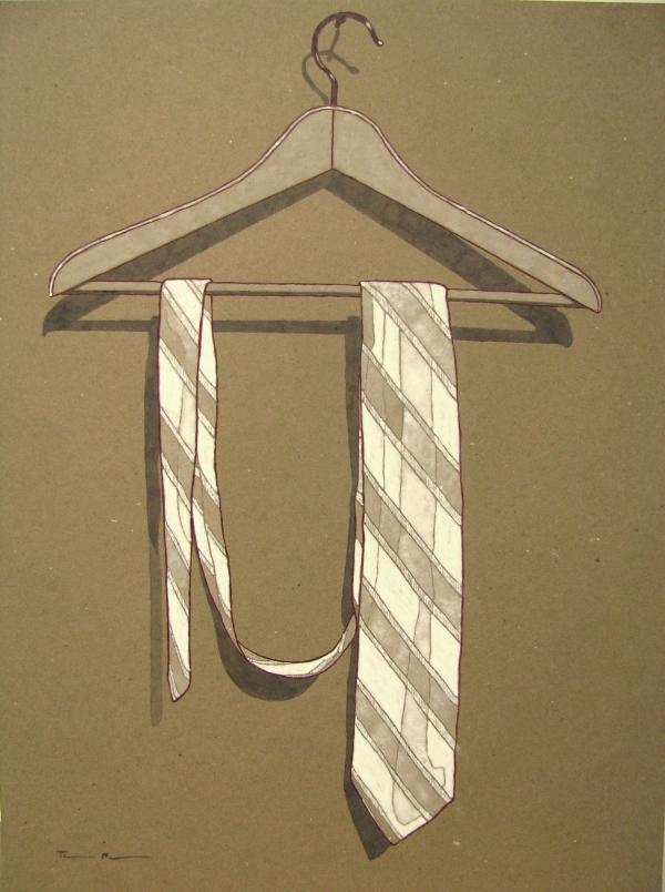 Brown Paper Series Tie