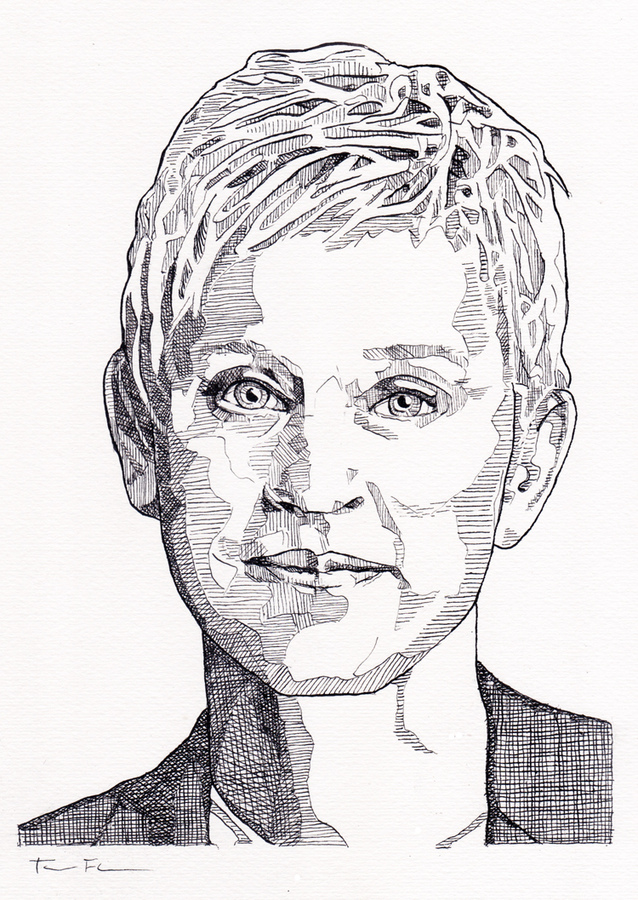 the Gay Agenda Drawings Ellen DeGeneres