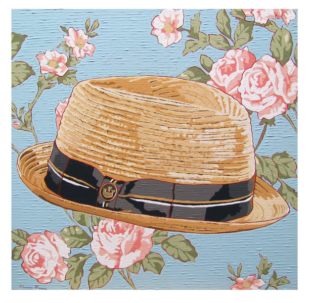 Recent Paintings Straw Hat