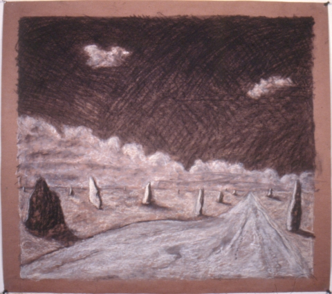 Early Drawings untitled landscape (inv.#1987-01)