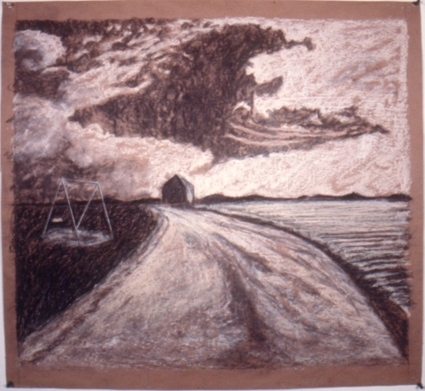 Early Drawings untitled landscape (inv.#1987-06)