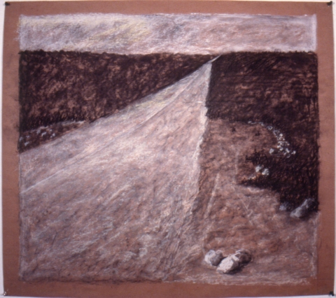 Early Drawings untitled landscape (inv.#1987-07)