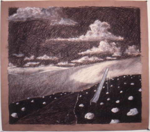 Early Drawings untitled landscape (inv.#1987-11)