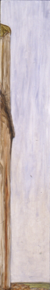 Narrow Vertical paintings  Hanging Trail (inv.#1994-24)