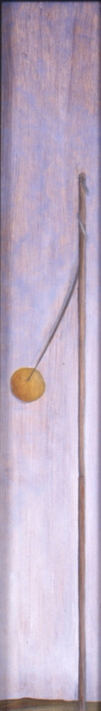 Narrow Vertical paintings  Teatherball (inv.#1994-35)