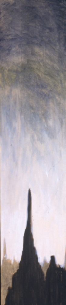 Narrow Vertical paintings  untitled (inv.#1996-18)