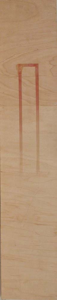 Narrow Vertical paintings  untitled (inv.#1994-)