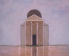 Architectural Fantasy Series 1999 oil on plywood