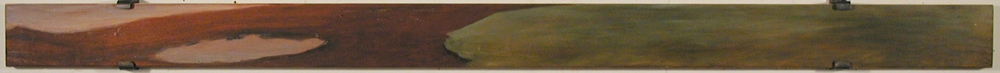Thomas Vinton Long Horizontal Paintings 1993-2002  oil on plywood