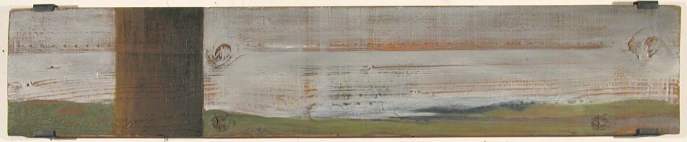 Thomas Vinton Long Horizontal Paintings 1993-2002  oil on wood panel