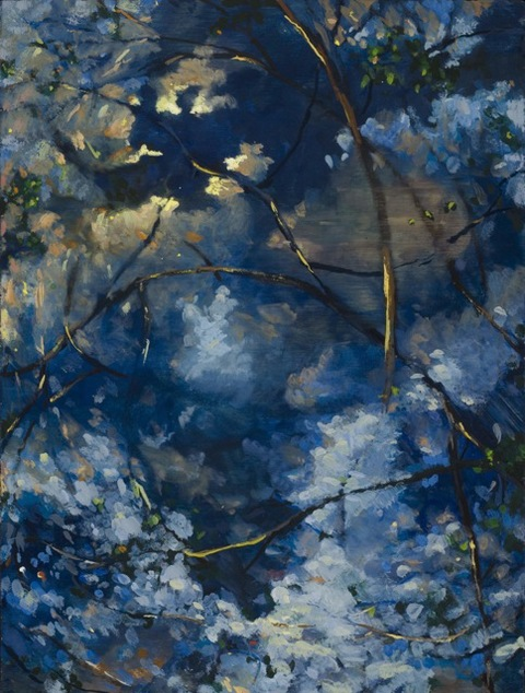 Thuan Vu The New World (2010-2012) encaustic on panel