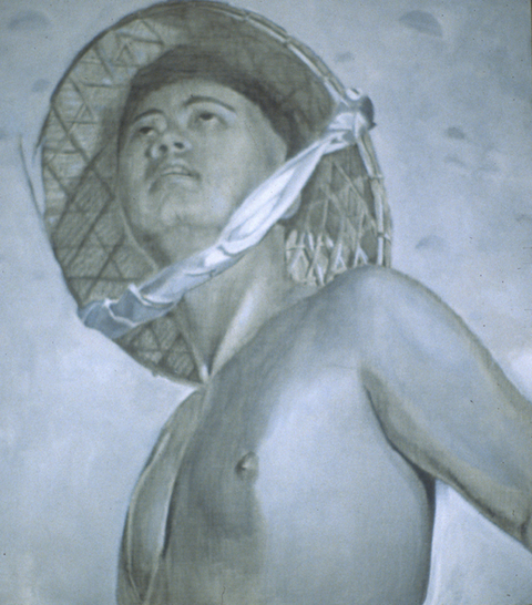 Thuan Vu The Refugee Pictures (2001-2003) oil and pencil on panel