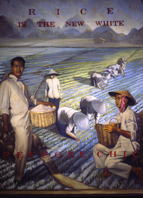 Thuan Vu The Refugee Pictures (2001-2003) Oil on canvas