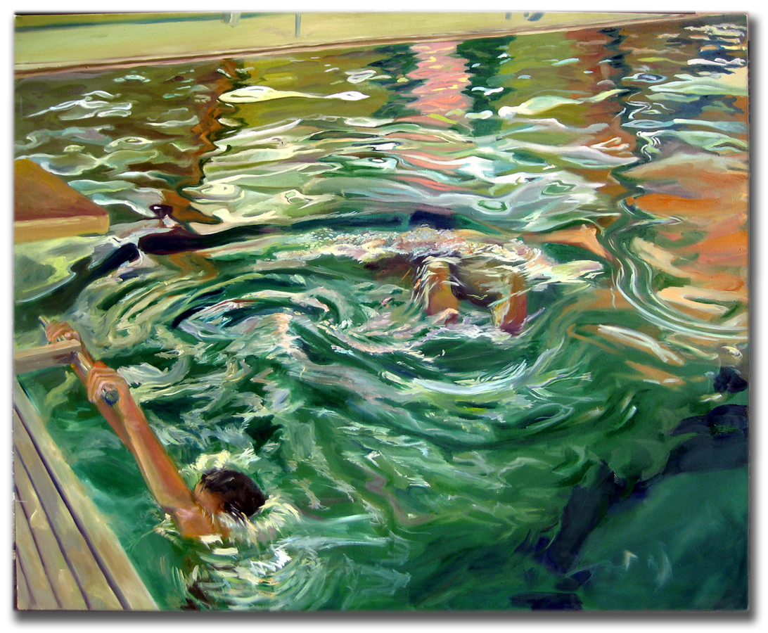 Earlier Paintings Pool Series 3