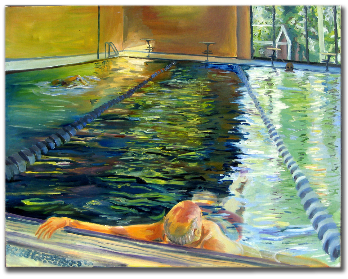 Earlier Paintings Pool Series 1