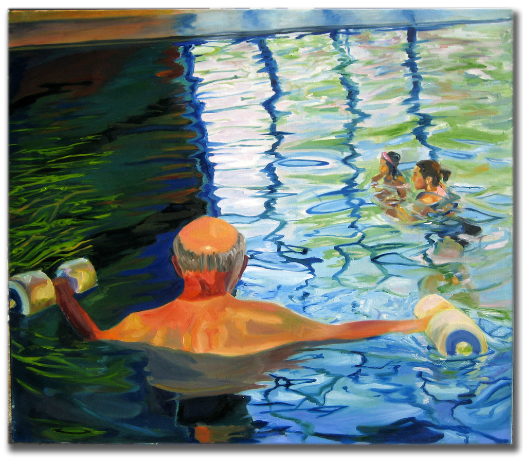 Earlier Paintings Pool Series 2