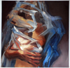 Wrapped Series Oil on masonite