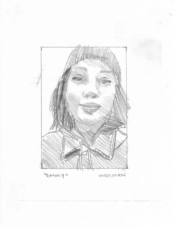 TIFFANY WOLLMAN 2020 Pencil on paper