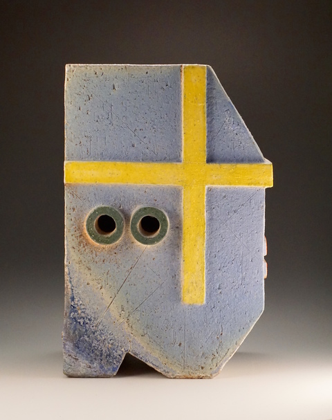 T  I  M     I  A  N     M  I  T  C  H  E  L  L SCULPTURE wood-fired stoneware with stains