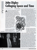 John Digby: Collaging Space and Time