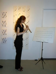 Tina Seligman September Etude 2009-2012 for flute and eye