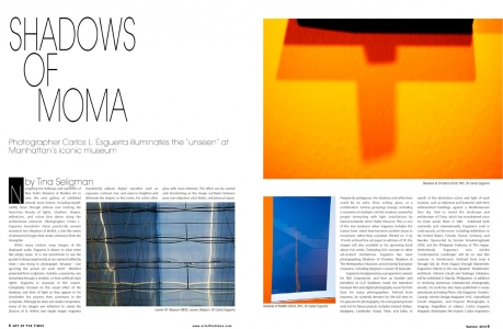 Tina Seligman Shadows of MoMA