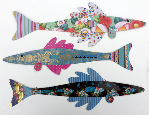 TIN CAN SALLY • Sally Seamans • Recycled Tin Art and Jewelry fish