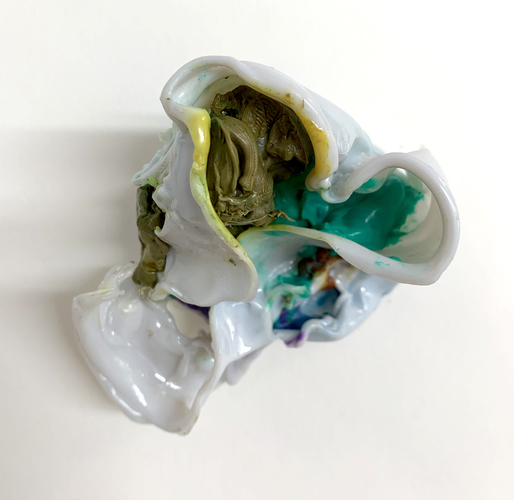 TOBY ZALLMAN Small Works Plastic
